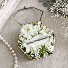 Wedding Boxes, Wedding Favors, Diy Wedding, Wedding Gifts, Wedding Flowers, Dream Wedding, White Wedding Decorations, Ring Holder Wedding, Ring Bearer Box