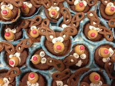 Rensdyr muffins
