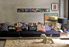 Almofadas diferentes e divertidas na decoração - modernize sua casa!