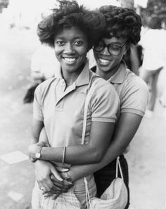 """cyclumvitae: Lovers at the CastroStreet Fair, 198314 x 11"""" Photo by Rink Foto"""