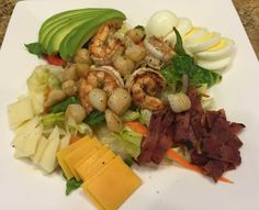 TASTE OF HAWAII: CHEF SALAD WITH SHRIMP AND SCALLOPS