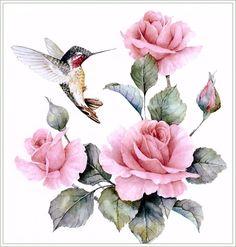 Калибра и розы - Схемы вышивки - SvetVash - Авторы - Портал «Вышивка крестом»