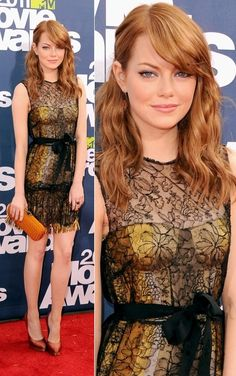 Don't need it but Im in love with this dress.....You may see more of Emma Stone, Emma Watson, and Zooey Dechanel