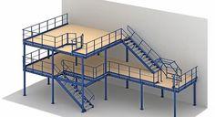 Planning a mezzanine floor in a factory or industrial space. Mezzanine floors…