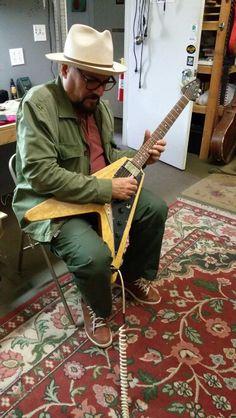 Jimmy Vivino and his 58 Albert Keith Richards Guitars, Addiction, Electric