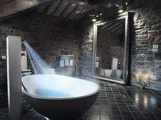 Bathroom interior design luxury modern home bathroom design architecture Modern rules for the bathroom design Dream Bathrooms, Beautiful Bathrooms, Luxury Bathrooms, Coolest Bathrooms, Unusual Bathrooms, Glamorous Bathroom, Rustic Bathrooms, Master Bathrooms, Beautiful Kitchens