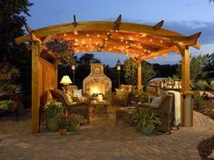 outdoor fireplace#Repin By:Pinterest++ for iPad#