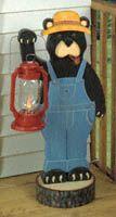 Black Bear Lantern Woodworking Plan