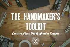The Handmaker's Toolkit by Vigilant Design Co. on @creativemarket