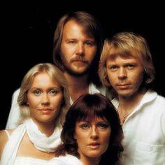 """ABBA grupo pop de los 70 sueco """"Chiquitita"""" """"Mamma  Mia"""""""