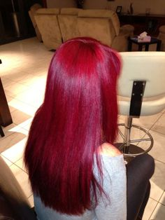 Manic Panic Vampire Red hair dye