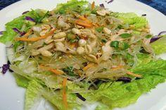 Thai Clear Noodle Salad (Yum Woon Sen). Photo by PanNan