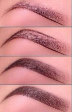 How to define your eyebrows.