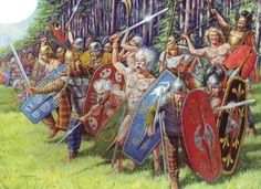 Celtic warriors. (Copyright:  Zvezda/Karatchuk, artist).