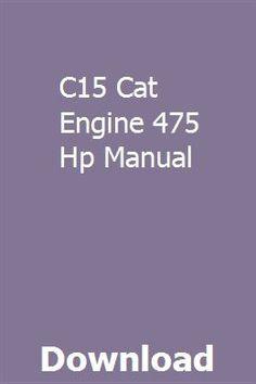41 Best cat engines images in 2019   Cat engines, Big trucks