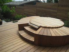 Hot tub: Garden Architecture/Robert Trachtenberg modern landscape