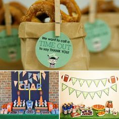 Boy Birthday Party Themes ideas-for-my-baby-parties-activities-etc Football Birthday, Sports Birthday, Boy Birthday Parties, Sports Party, Birthday Ideas, Themed Parties, Football Baby, Kid Parties, School Football