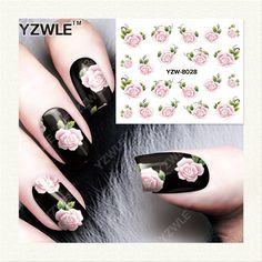 0.10$  Buy here - http://alink7.shopchina.info/go.php?t=32663993121 - YZWLE 1 Sheet DIY Decals Nails Art Water Transfer Printing Stickers Accessories For Manicure Salon  YZW-8028 0.10$ #shopstyle