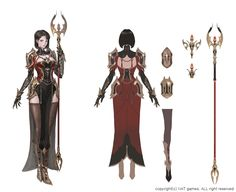 ArtStation - project jee wook Choi (c juk) Tattoo Character, Character Sheet, Armor Concept, Concept Art, Fantasy Characters, Female Characters, Aphrodite Tattoo, Staff Magic, Female Character Design
