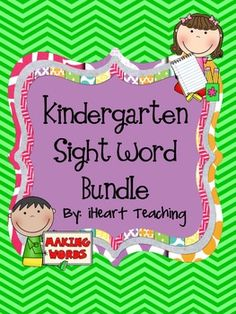 great for centers! Kindergarten Kid, Kindergarten Reading Activities, Reading Resources, Reading Strategies, Literacy Activities, Preschool, Teaching Sight Words, Sight Word Practice, Sight Word Games