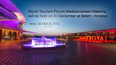 World Tourism Forum Middle East & North Africa Meeting