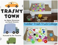 A Book and a Craft for Toddlers