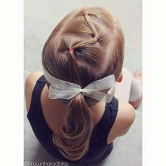 Peinados para nenas princess girls hairdos, hair styles y gi Little Girl Hairdos, Girls Hairdos, Baby Girl Hairstyles, Princess Hairstyles, Braided Hairstyles, Toddler Hairstyles, Teenage Hairstyles, Short Haircuts, Natural Hairstyles