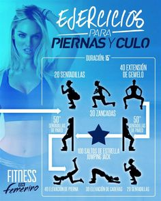 Piernas y culo !! Fitness en femenino Totalfitness.com legs and bum