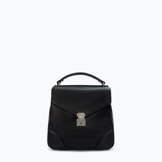 RUCKSACK WITH METALLIC FASTENING-Handbags | ZARA United States