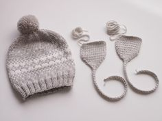 Life with Mari Settee, Baby Knitting, Knitted Hats, Knit Crochet, Winter Hats, Kids, Baby Knits, Crocheting, Tejidos