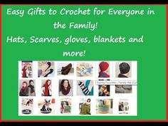 Family Favorite to Crochet Patterns Make Gifts for Everyone on Your List!