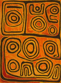 Mawakurka Jimmy Nerrimah, 'Wayampajarti Country,' acrylic on canvas, 120 x 90 cm. Mangkaja Arts Agency, Fitzroy Crossing, Western Australia.