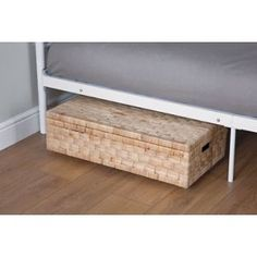 Wheeled Underbed Storage Box with Lid. from Homebase.co.uk