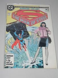 1986 DC SUPERMAN THE MAN OF STEEL INTRODUCING LOIS LANE COMIC BOOK Free Shipping!!