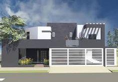 Resultado de imagen para frente de casas pequeñas con rejas