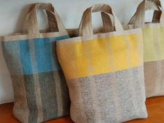 Woven Bags, Swedish Weaving, Weaving Textiles, Craft Bags, Patchwork Bags, Linen Bag, Fabric Bags, Knitted Bags, Cloth Bags