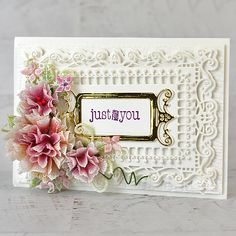 Heartfelt Creations exists to dynamically inspire, uplift, and add value to papercrafters. Small Flower Bouquet, Flower Center, Card Making Tutorials, Making Ideas, Lilac Blossom, Heartfelt Creations Cards, Paper Crafts, Diy Crafts, Hero Arts