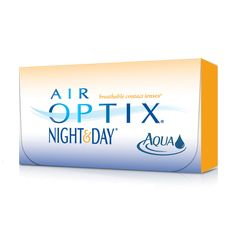 AIR OPTIX® NIGHT & DAY® AQUA Contact Lenses. AIR OPTIX® NIGHT & DAY® AQUA contact lenses are FDA-approved for daily wear and up to 30 nights of continuous wear.§ They are the contact lens brand most recommended by eye care professionals for patients who sleep overnight in their contact lenses.