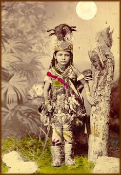 Maria Flores, 1800s, in costume representative of the Indian, Spanish, and Mexican cultures indigenous to the southwest