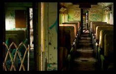 Abandoned train cars outside of Kingston, New York.(photo by David Waldron)    Submission by dwaldenum.