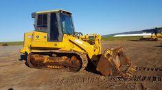 2004 John Deere 655C Series 2 Tracked Loader Crawler Tractor Diesel 4/1 Bucket