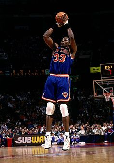 Patrick Ewing Basketball Pictures, Basketball Legends, Sports Basketball, Basketball Players, Nba New York, New York Knicks, Nba Europe, Patrick Ewing, Sport Hall