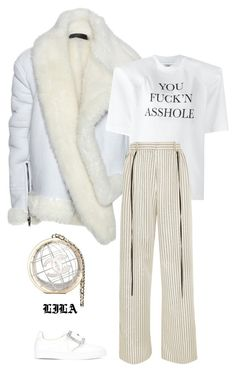 """""""7AM."""" by fashionoise ❤ liked on Polyvore featuring Haider Ackermann, Maison Margiela, Vetements and Adeam"""
