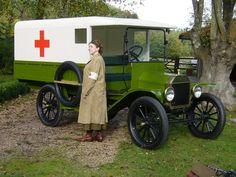 Model T Ford Ambulance