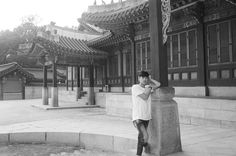 #projectW #black #white #film #canon #eos5 #summer #korea #seoul #changdeokgung #palace