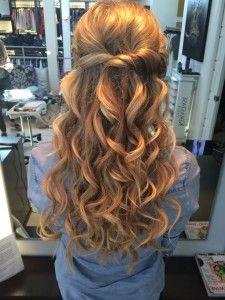 Un peinado sencillo, fácil de hacer y comodo
