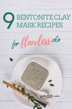Not your normal list here's 9 DIFFERENT bentonite clay mask recipes by facial clay masks. We love bentonite for it's cleansing detoxing and rejuvenating qualities. And your skin will feel SO SMOOTH after! Care Skin Condition and Treatment Oil Makeup Clay Face Mask, Clay Masks, Kitsune Maske, Diy Cosmetic, Aztec Clay, Bentonite Clay Mask, Banana Face Mask, Homemade Face Masks, Beauty Recipe