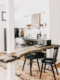10 Staggering Tips: All Natural Home Decor Coffee Tables natural home decor living room interior design.Natural Home Decor Rustic Window natural home decor earth tones coffee tables.Natural Home Decor Rustic Plants. Kitchen Dining, Kitchen Decor, Kitchen Ideas, Diy Kitchen, Kitchen Furniture, Kitchen Designs, Live Edge Furniture, Kitchen Wood, Kitchen Trends