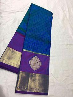 Indian Silk Sarees, Pure Silk Sarees, Saree Color Combinations, Cotton Sarees Handloom, Lehenga Saree Design, Kanchipuram Saree, Woman Clothing, Saris, Saree Wedding