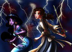 Disney Princess Threathened III by ~forgotten-ladies on deviantART